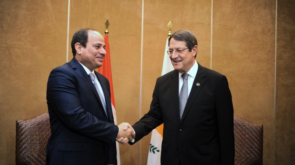 Αλ Σίσι: Η οριοθέτηση των ΑΟΖ Κύπρου-Αιγύπτου άνοιξε τον δρόμο για νέες έρευνες