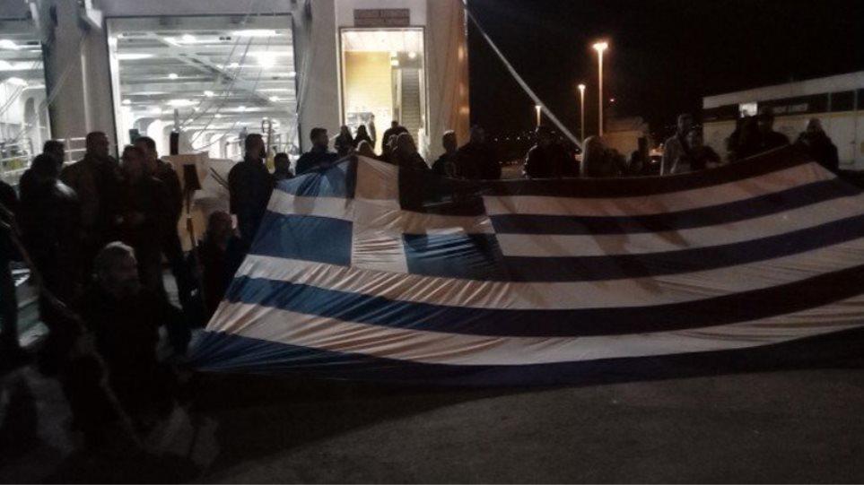 Αναχώρησαν οι Κρητικοί για το συλλαλητήριο της Αθήνας (βίντεο)