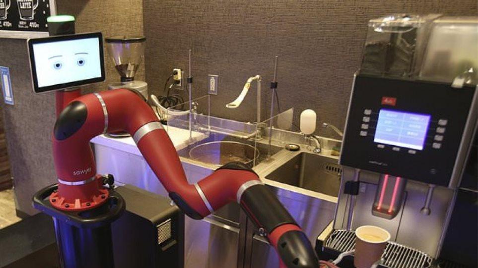 Το ρομπότ – μπαρίστα του Τόκιο που φτιάχνει καφέ
