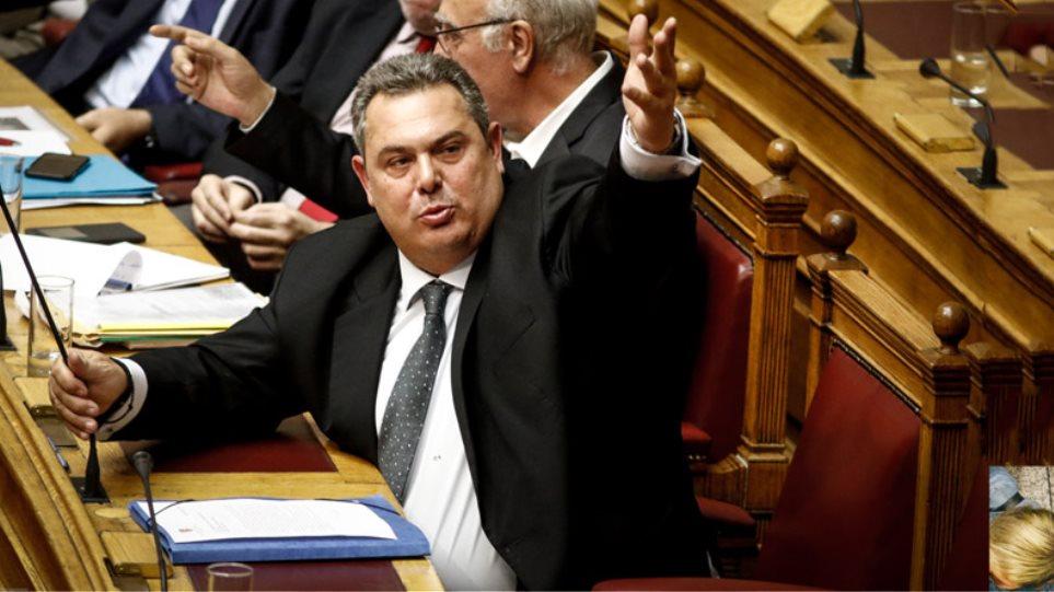 Έφτασε στη Βουλή η δικογραφία για τα βλήματα: Για απιστία ελέγχεται ο Καμμένος