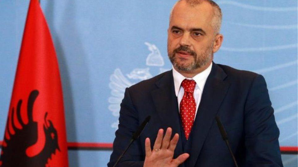 Έντι Ράμα: Κοινός πρόεδρος για Αλβανία και Κόσοβο