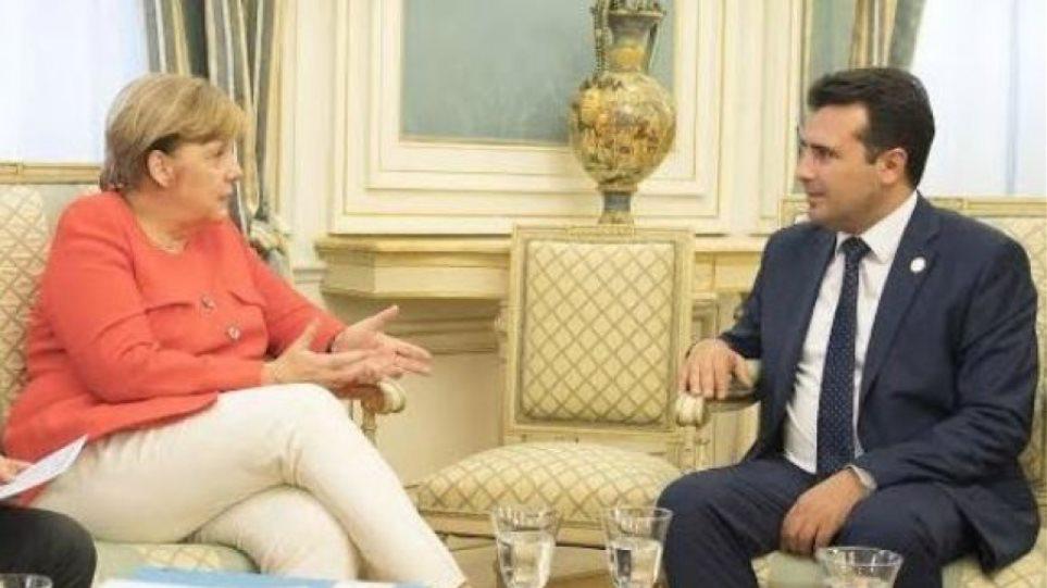 Στο Βερολίνο σήμερα ο Ζόραν Ζάεφ - Συνάντηση με την Άνγκελα Μέρκελ