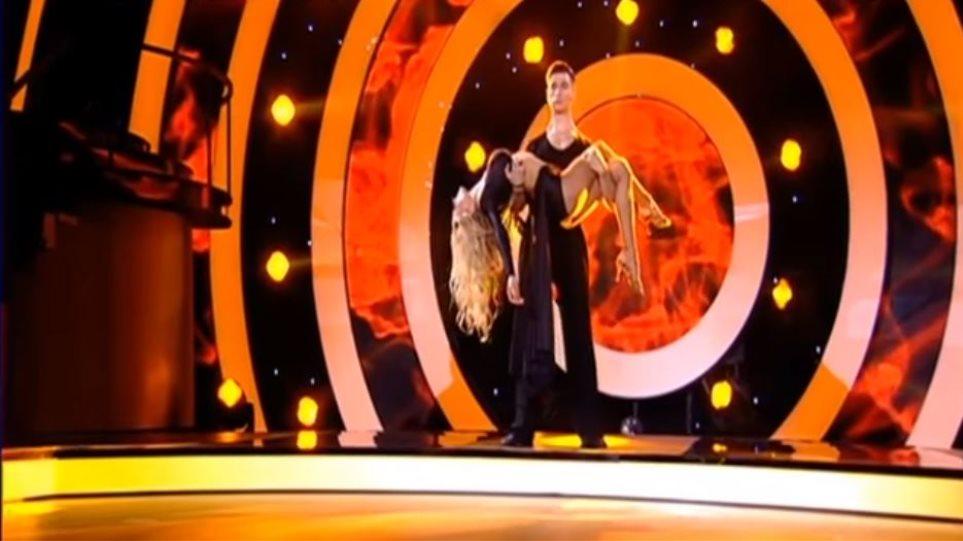 DWTS: Το εντυπωσιακό χορευτικό της Όλγας Πηλιάκη