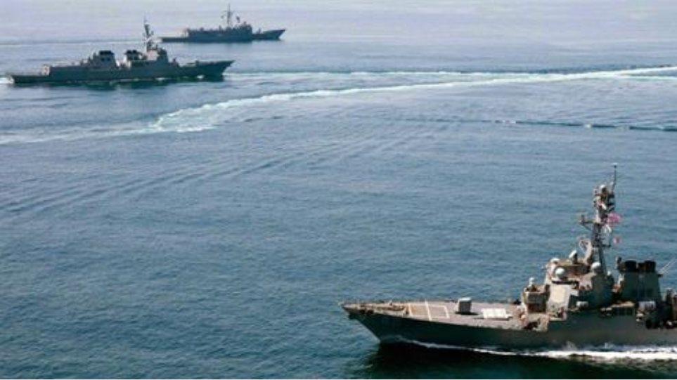 Sputnik: Αμερικανικά πλοία και πεζοναύτες στην ανατολική Μεσόγειο για τη γεώτρηση της ExxonMobil