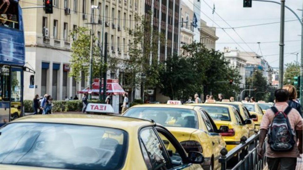 «Χειρόφρενο» σε τρένα και Προαστιακό - Στάση εργασίας και στα ταξί