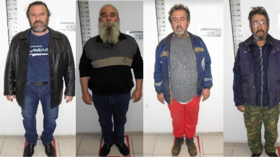 Φωτογραφίες: Αυτοί είναι οι τέσσερις κατηγορούμενοι για το βιασμό της 6χρονης στην Πιερία