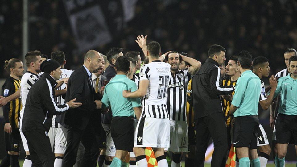 Απίστευτο! Ο ΠΑΟΚ ανακοίνωσε ότι νίκησε την ΑΕΚ 1-0, λόγω διακοπής του αγώνα!