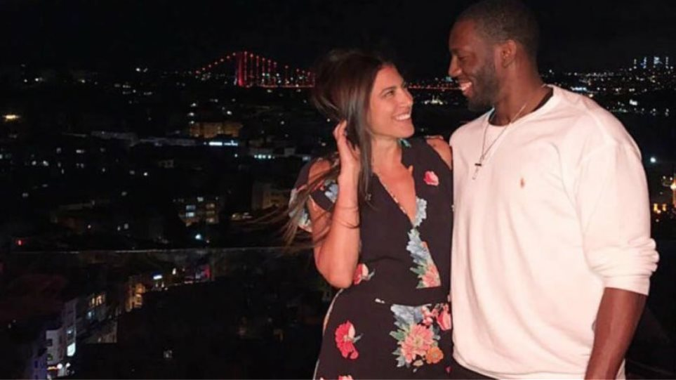 Basketball player Bryant Dunston marries Anna Kavasila (photos)