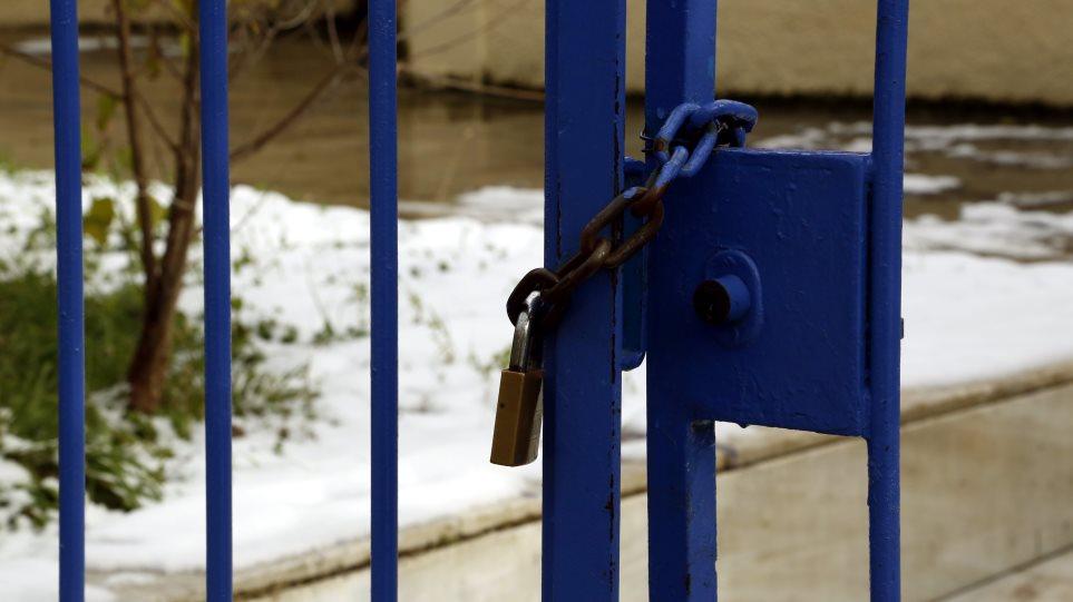 Αποτέλεσμα εικόνας για σχολεια χιονι κλειστα