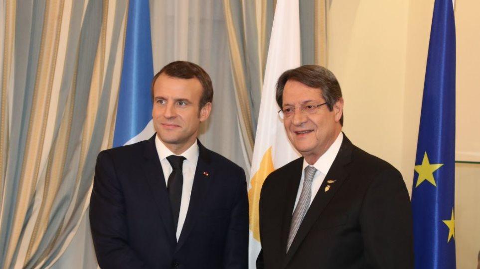 Κύπρος-Γαλλία ανακοινώνουν κοινές δράσεις σε άμυνα και ενέργεια