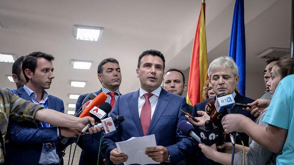 Νευρική κρίση στην κυβέρνηση για την επιμονή Ζάεφ με τη «Μακεδονία»