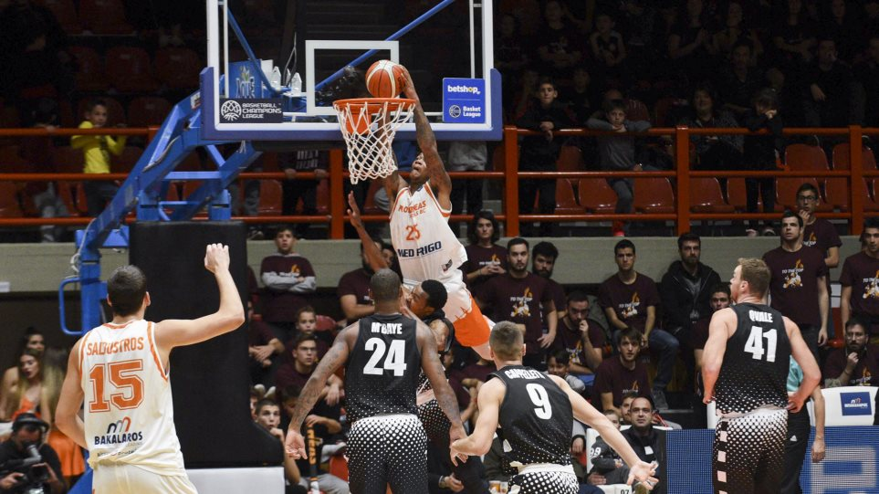 Basketball Champions League, Προμηθέας Πατρών-Βίρτους