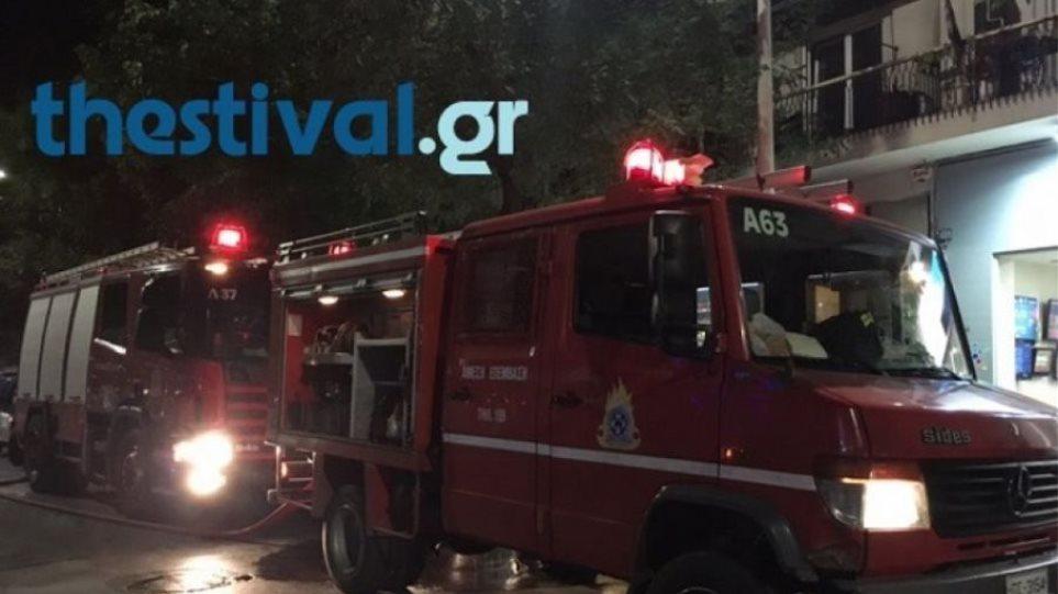 Εκκενώθηκε πενταώροφη πολυκατοικία στις Σέρρες λόγω φωτιάς - Στο νοσοκομείο παιδί 2,5 ετών