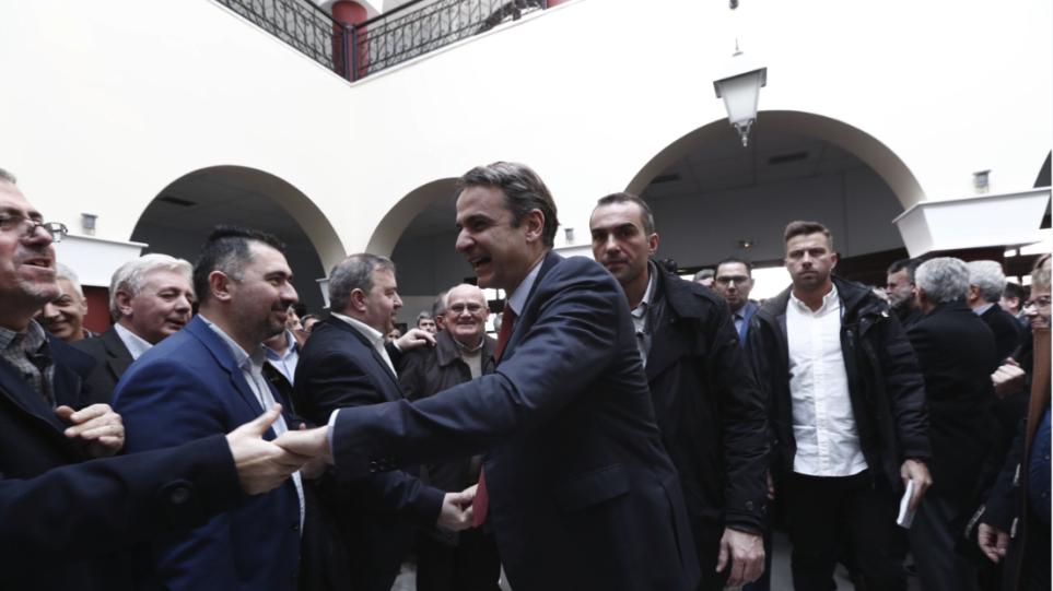 Θερμή υποδοχή Μητσοτάκη στην Κοζάνη: Σ' ευχαριστούμε γι' αυτά που έκανες για τη Μακεδονία