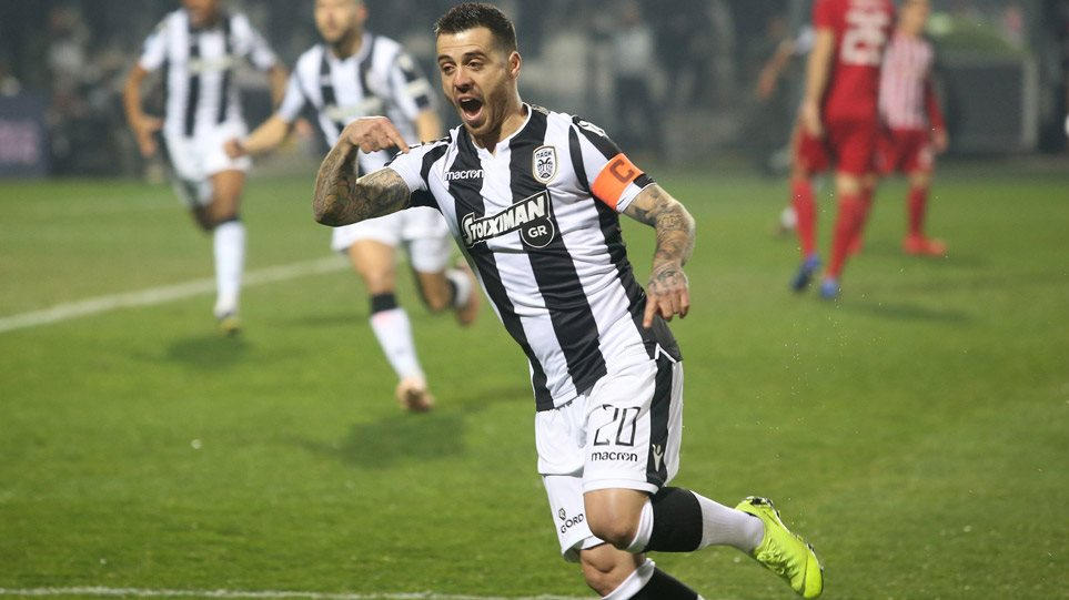Image result for παοκ ολυμπιακος 3-1