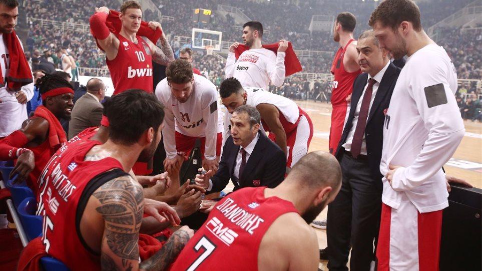 Κύπελλο μπάσκετ  Από τη δεύτερη περίοδο είχε αποφασίσει αποχώρηση ο  Ολυμπιακός - Στηρίζει ο κόσμος του bcf39190601