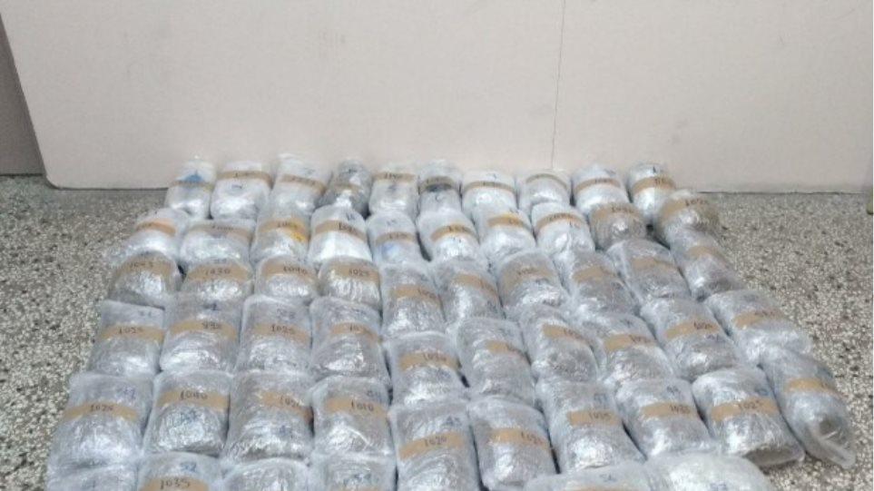 Καστοριά: Από τη φυλακή συντόνιζε την εισαγωγή 64 κιλών χασίς