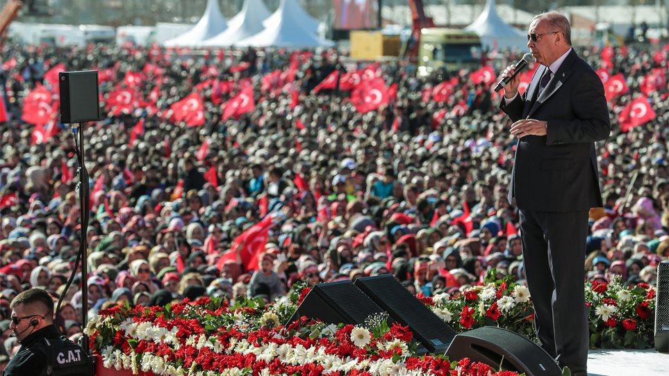 Απτόητος ο στριμωγμένος Ερντογάν: Είναι ώρα να κάνουμε τζαμί την Αγιά Σοφιά