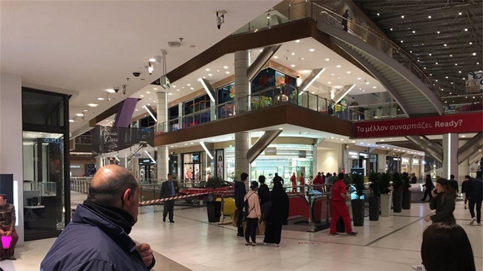 Μυστήριο με τη γυναίκα που έπεσε από τον 3ο όροφο του «The Mall» - H ανακοίνωση του εμπορικού κέντρου