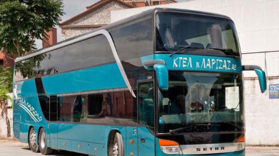 Συνελήφθη επιβάτης που μαχαίρωσε οδηγό λεωφορείου στη Λάρισα