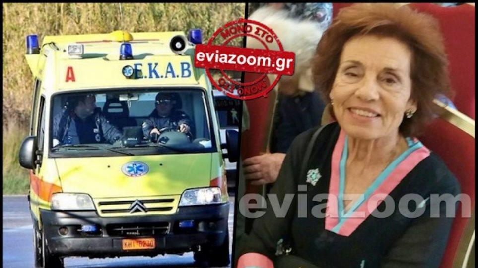 Τραγωδία στη Χαλκίδα: Σε σοκ ο γιος που σκότωσε κατά λάθος τη μητέρα του