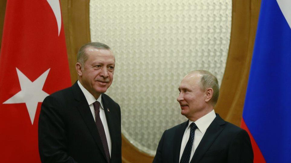 Σήμερα η κρίσιμη συνάντηση Ερντογάν-Πούτιν με «φόντο» την οργή των ΗΠΑ για τους S-400