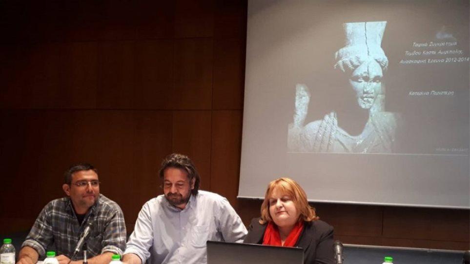 Τύμβος Αμφίπολης: Ακατανόητη η καθυστέρηση, δηλώνει η Κατερίνα Περιστέρη