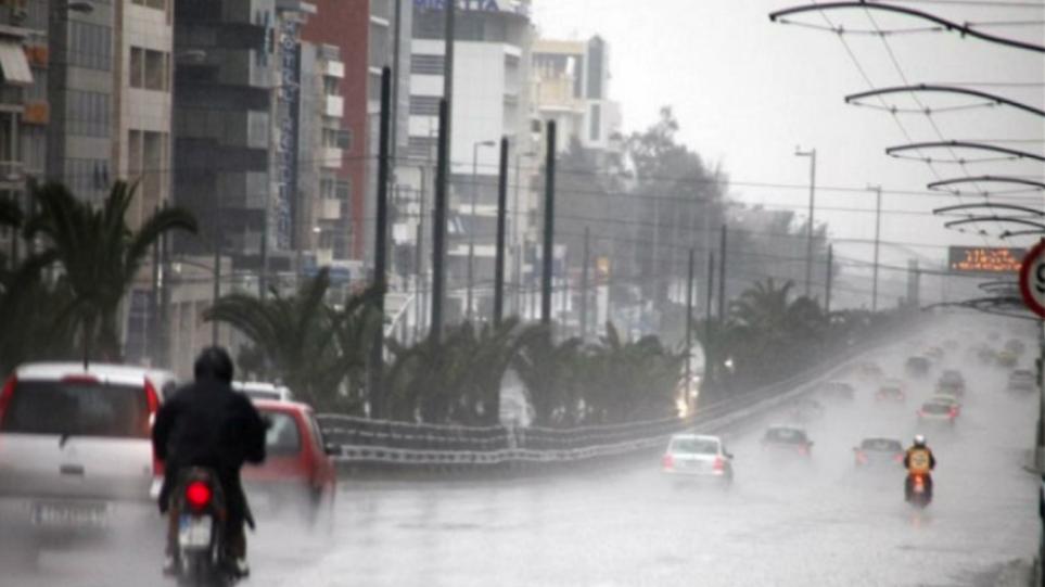 Αποτέλεσμα εικόνας για καταιγιδες βροχες αθηνα