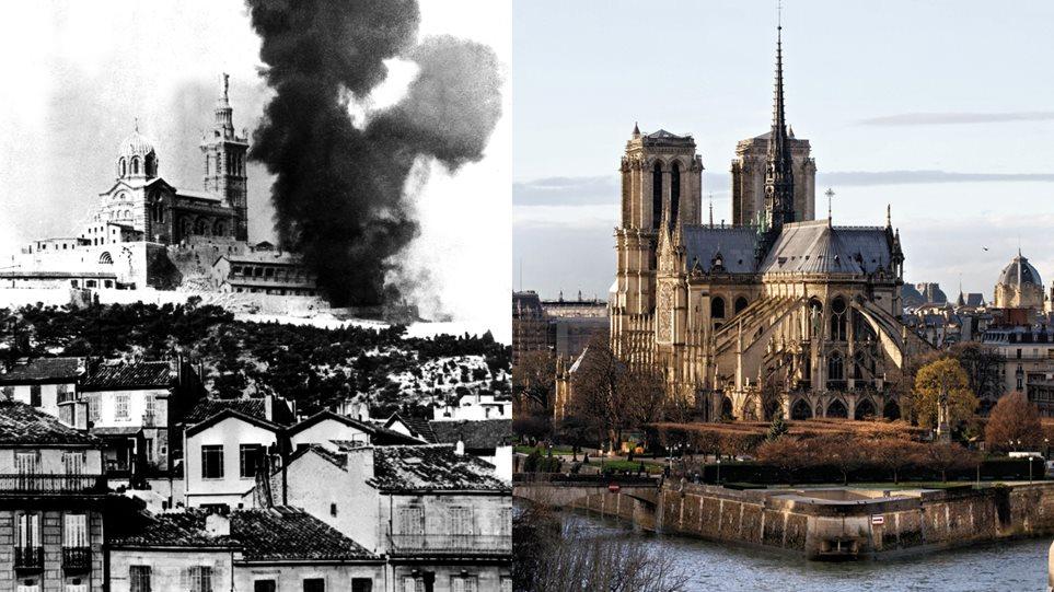Στις φλόγες παραδόθηκε η Παναγία των Παρισίων - Ανυπολόγιστη καταστροφή