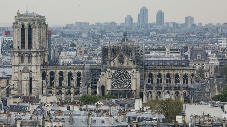 Παναγία των Παρισίων: Πάνω από 600 εκατ. ευρώ οι δωρεές για την ανοικοδόμηση