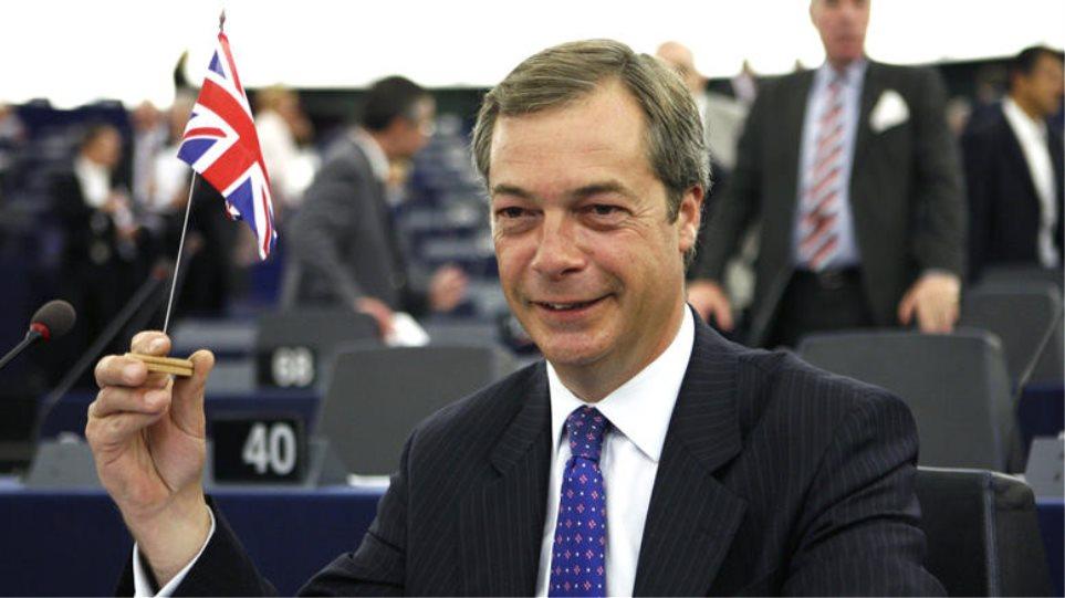 Ευρωεκλογές στη Βρετανία: Πρώτο κόμμα το «Brexit» του Φάρατζ