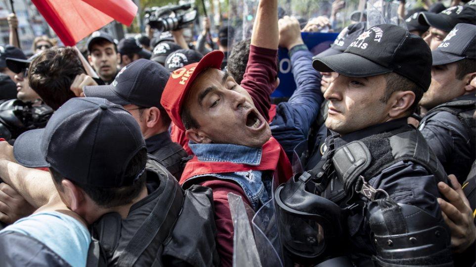 Τουρκία: «Φρούριο» η πλατεία Ταξίμ για την Πρωτομαγιά, συνελήφθησαν πολίτες
