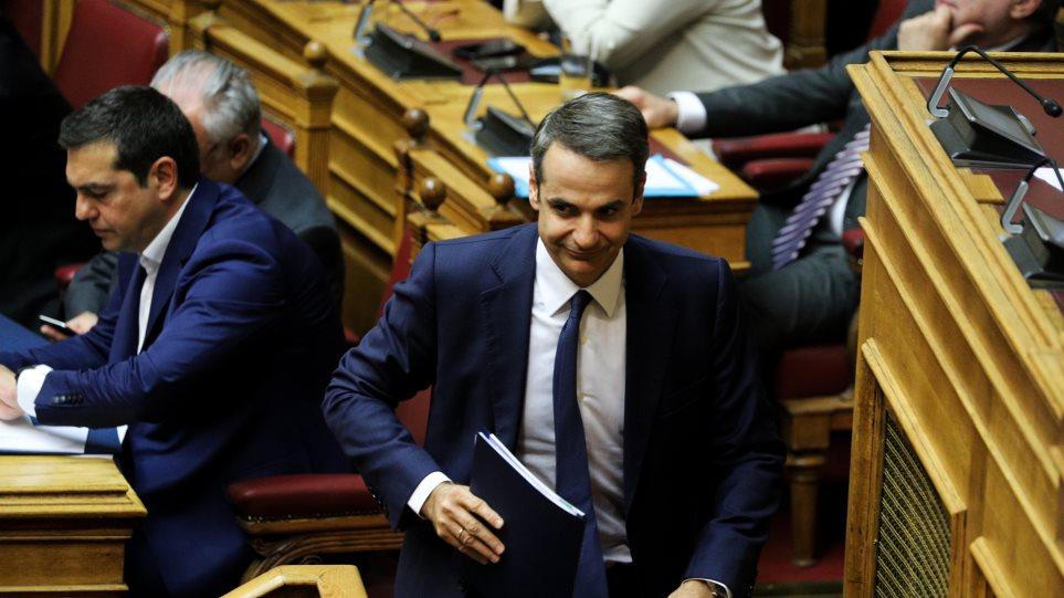 Η ΝΔ προηγείται με 6,5% του ΣΥΡΙΖΑ: Γκάλοπ της MRB