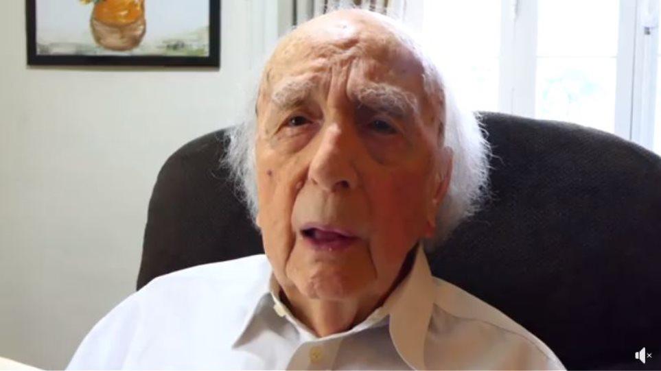 Λυσσαρίδης: Μπήκα στα 100 - Ο θάνατος δεν δικαιολογεί απουσία από την εκλογική μάχη-ΒΙΝΤΕΟ