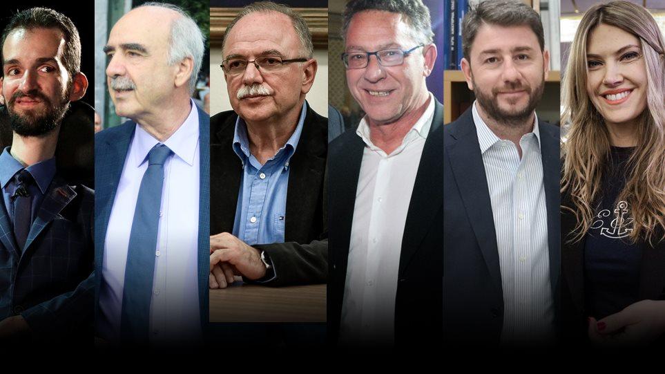 Γκάλοπ: Κυμπουρόπουλος, Παπαδημούλης, Ανδρουλάκης οδηγούν την κούρσα του σταυρού