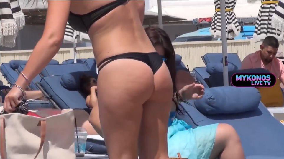 Η Μύκονος ψήφισε bikini δαγκωτό! (VIDEO)