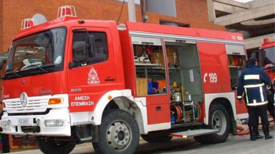 Οινόφυτα: Απεγκλωβίστηκε ελαφρά τραυματισμένος ο οδηγός της νταλίκας που ανετράπη