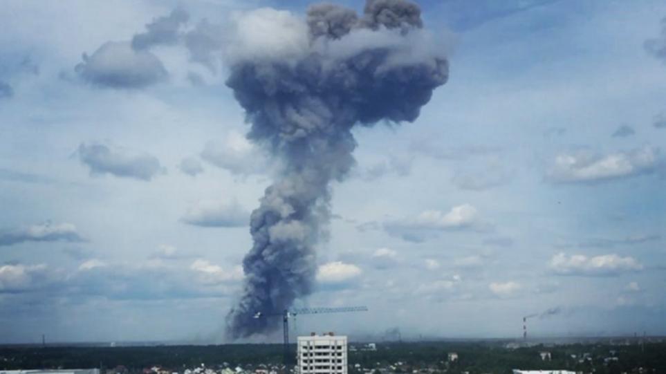 Ρωσία: 19 τραυματίες από εκρήξεις σε εργοστάσιο εκρηκτικών - Δείτε βίντεο