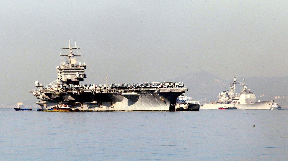 Μήνυμα ΗΠΑ στην Τουρκία: Έχουμε πλοία, αεροπλάνα και χιλιάδες στρατιώτες στην ανατολική Μεσόγειο