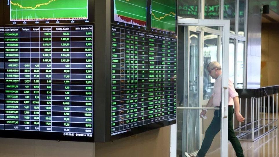 Εκρηκτική άνοδος 3,28% στο Χρηματιστήριο