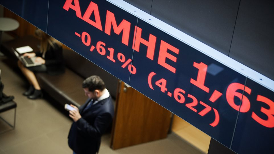 Χρηματιστήριο: Άνοδος με... «οδηγό» το ομόλογο που έπεσε στο 2,59%
