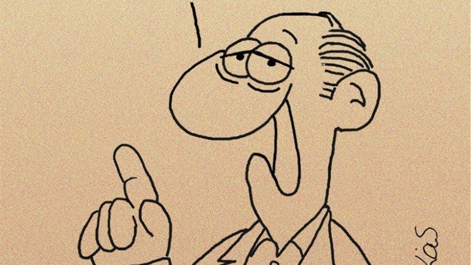 Καυστικό σκίτσο Αρκά για ΣΥΡΙΖΑ: Η καινούργια κυβέρνηση κατέστρεψε τη χώρα!