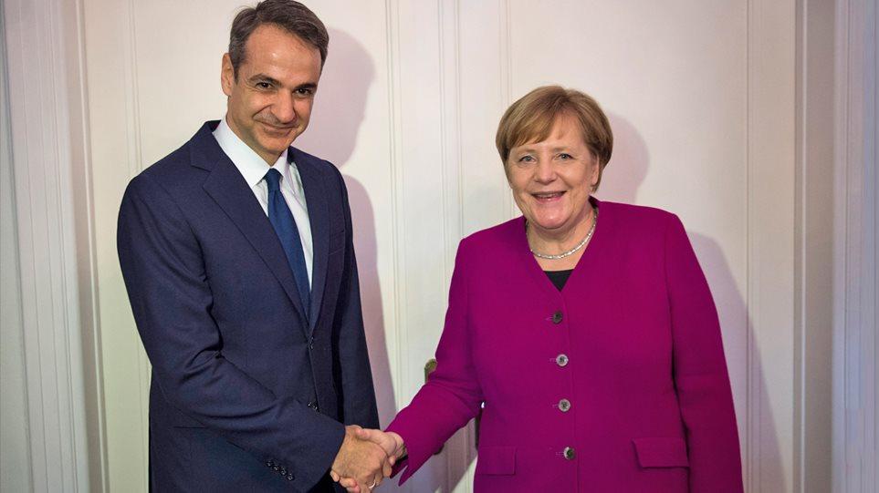 Πρόσκληση Μέρκελ σε Μητσοτάκη - Στο Βερολίνο ο πρωθυπουργός μετά τις 20 Αυγούστου