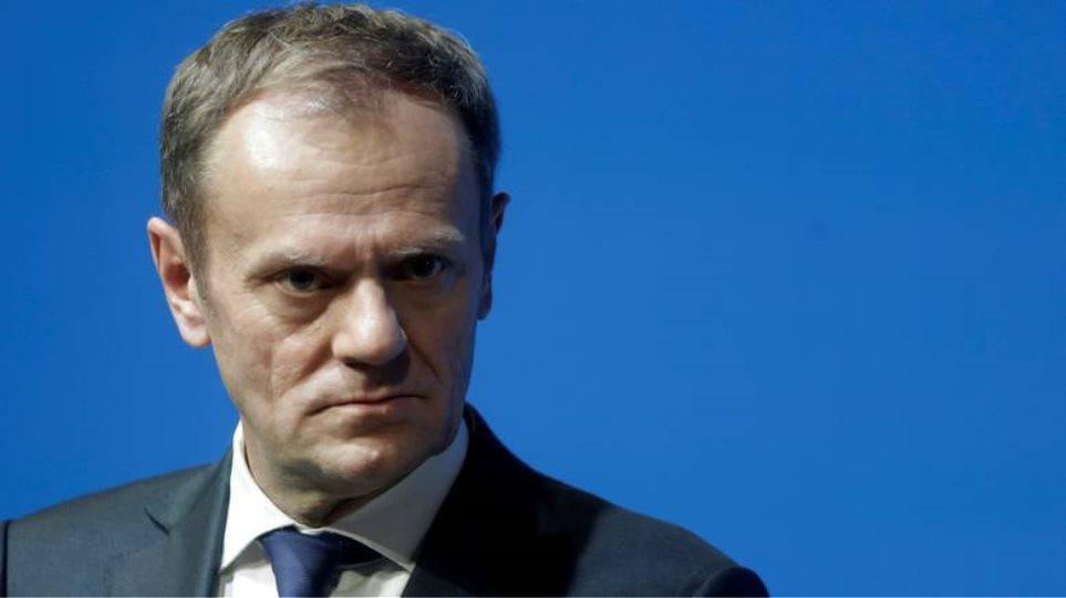 Τουσκ: Αναπόφευκτες οι κυρώσεις σε βάρος της Τουρκίας για τις προκλήσεις στην κυπριακή ΑΟΖ