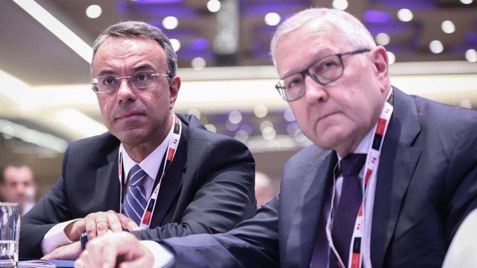 Σταϊκούρας: Με ανάπτυξη η μείωση των πλεονασμάτων -  Ρέγκλινγκ: Καλοδεχούμενες οι μεταρρυθμίσεις