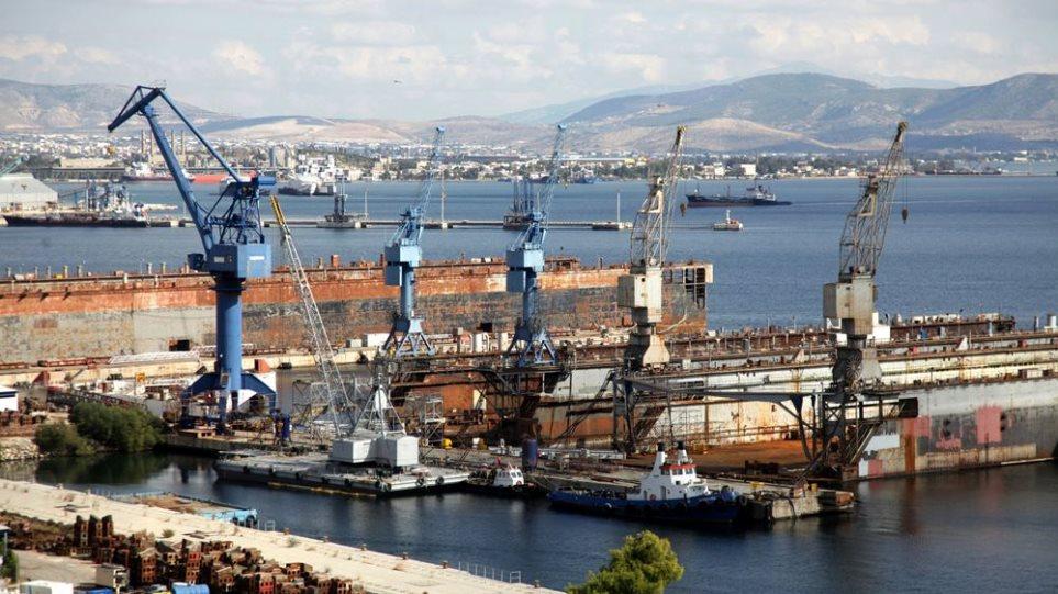 Συμφωνία για επένδυση $400 εκατομμυρίων στα Ναυπηγεία της Ελευσίνας