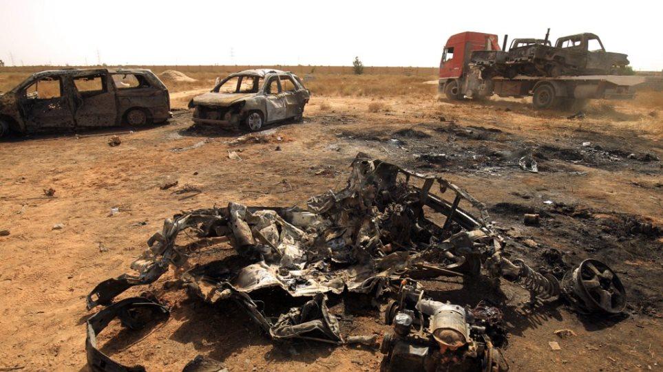 Λιβύη: Τρεις νεκροί στρατιωτικοί από αεροπορική επιδρομή σε προάστιο της Τρίπολης