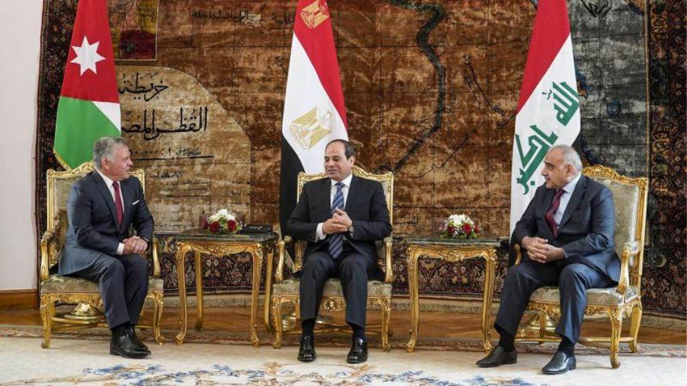Τριμερής συνάντηση των ΥΠΕΞ του Ιράκ, της Ιορδανίας και της Αιγύπτου αύριο στην Βαγδάτη
