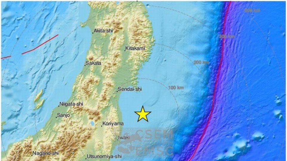 Σεισμός 6,2 Ρίχτερ στη Φουκουσίμα - Δεν εκδόθηκε προειδοποίηση για τσουνάμι