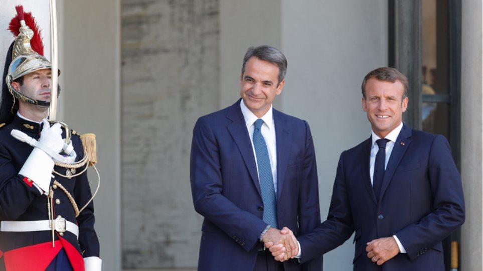 Μακρόν: Γαλλία και ΕΕ δεν θα δείξουν καμία αδυναμία απέναντι στην Τουρκία για την κυπριακή ΑΟΖ